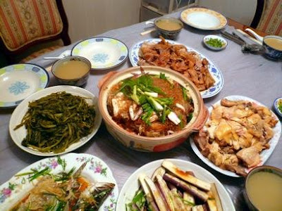 The Traveling Foodies: Hong Kong: Fanling, home cooked meals...