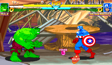 MARVEL SUPER HEROES ARCADE