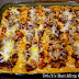 Roast Beef & Corn Tamale Ribbon Pie