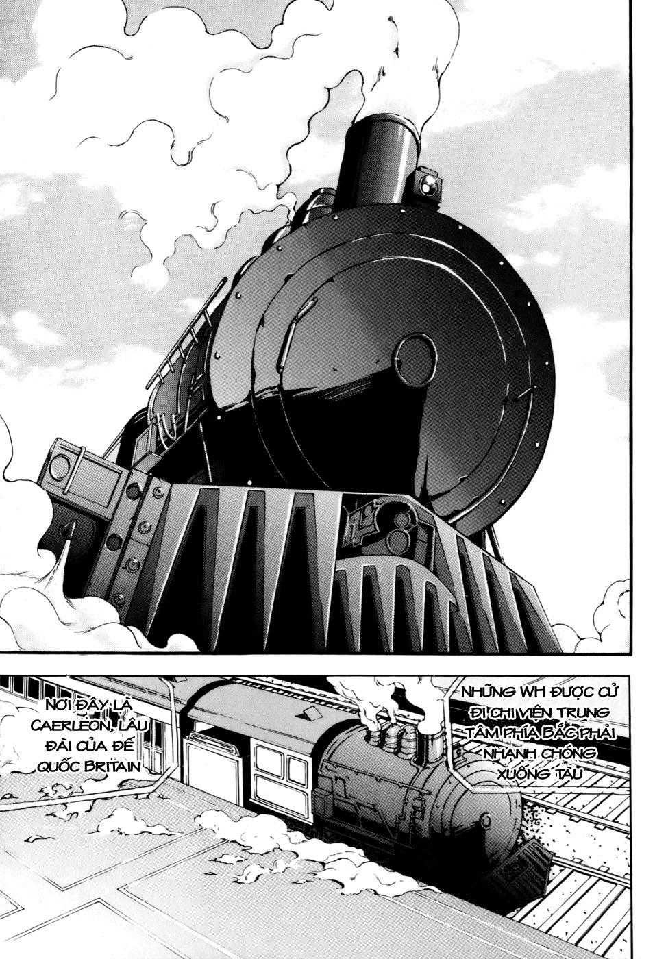 Witch Hunter – Thợ Săn Phù Thủy chap 37 Trang 9 - Mangak.info