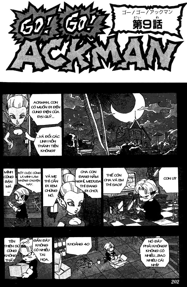 Go! Go! Ackman chap 9 - Trang 2