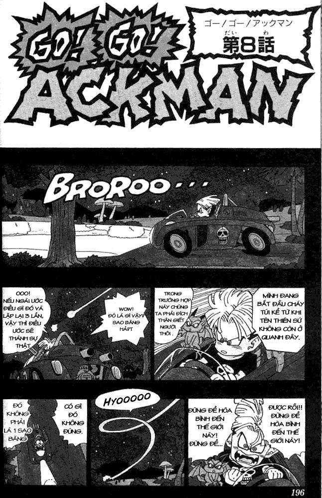 Go! Go! Ackman chap 8 - Trang 2