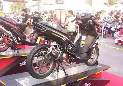Modif Warna Yamaha Mio