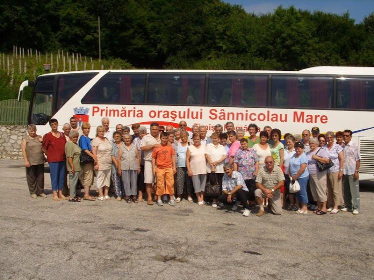 Excursie cu seniori sanmiclauseni