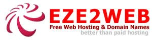 EZE2WEB - Free Web Hosting & Domain Names