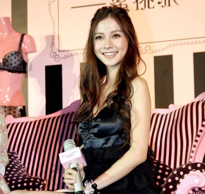 Roast Pork Sliced From A Rusty Cleaver: Angelababy and