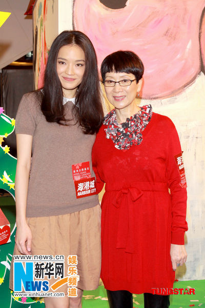 shu qi hot model actress. Shu Qi, Connie Chan(Xinhua)