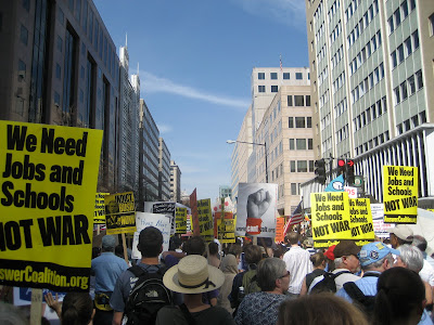 <br />march 20 DC protest anti war anti-war