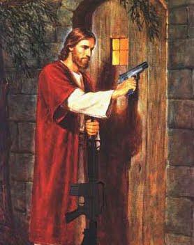 jesus gun military
