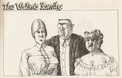 B. Kliban the victims family