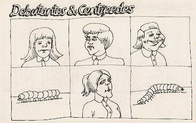 B. Kliban debutantes and centipedes