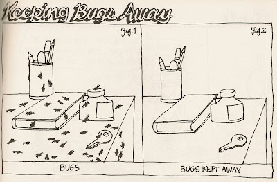 B. Kliban keeping bugs away