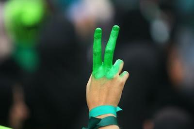 iran protest uprising revolution