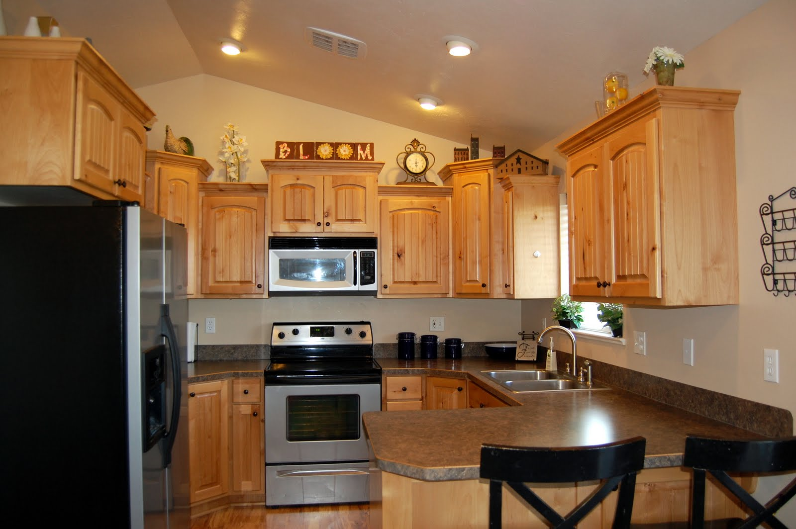 Lighting for Kitchen with Vaulted Ceiling