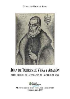 Portada del libro biográfico de Juan de Torres de Vera y Aragón