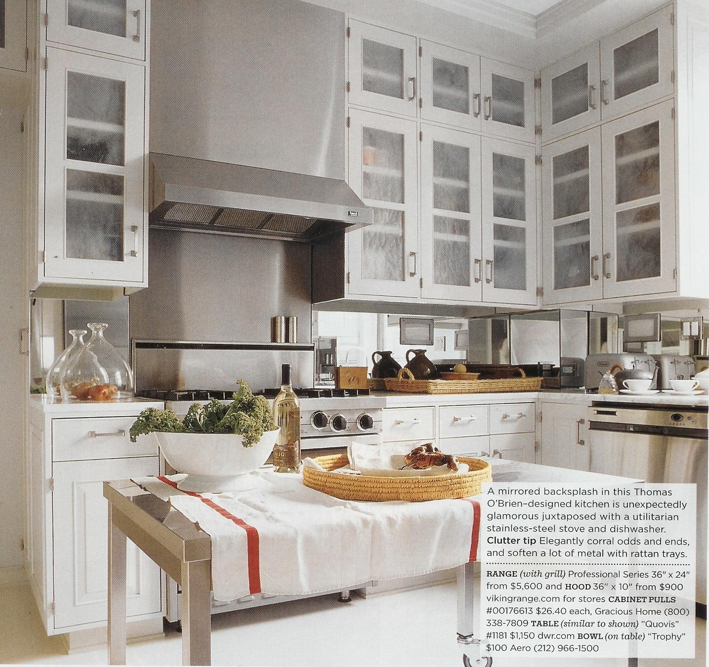 mirror backsplash for kitchen beautiful home design