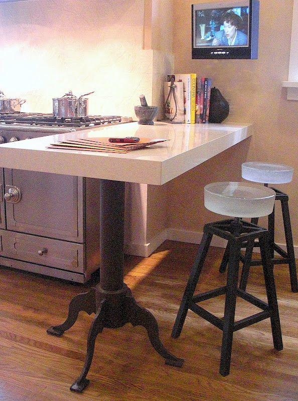 1000 images about galley kitchen on pinterest galley for Galley kitchen with breakfast nook