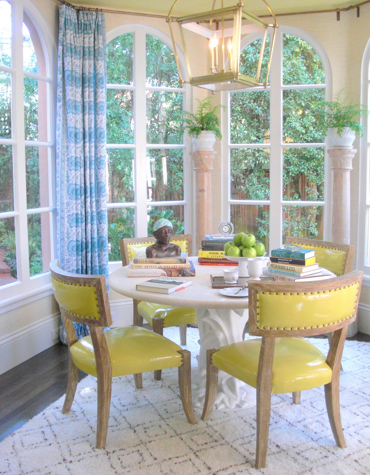 Katiedid elle decor showhouse 2010 kitchen and breakfast room by