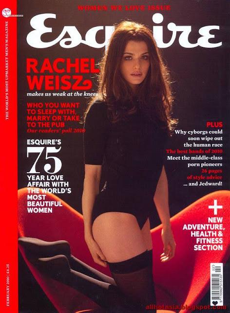 British actress Rachel Weisz on Esquire UK CoverRachel Weisz Esquire Cover