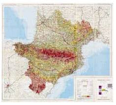 Pyrenees block the 'neck' of the Iberian Peninsula