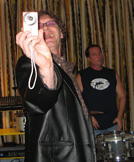 Joey taking a picture of me taking a picture of him and Rich