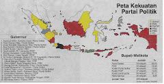 Peta Kekuatan Partai Politik