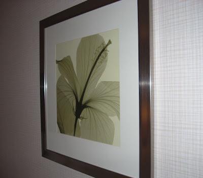 hotel flower print