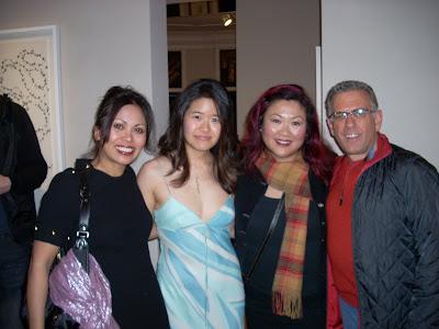 Isabel Manalao, Amy Lin, Annie Adjchavanich and Dr. Fred Ognibene