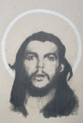 Che Guevara as San Ernesto by F. Lennox Campello, 2010