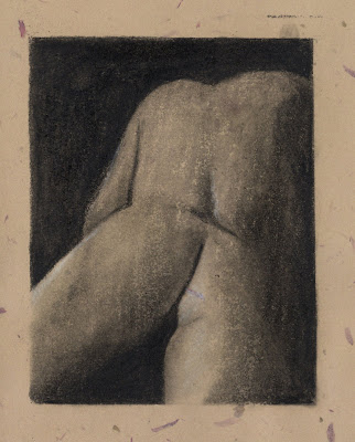 Rear Nude by F. Lennox Campello