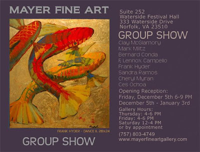Mayer Fine Art gallery opening for December
