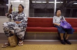 Sky Bergman Japanese subway series