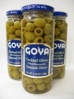 Goya Manzanilla Olives