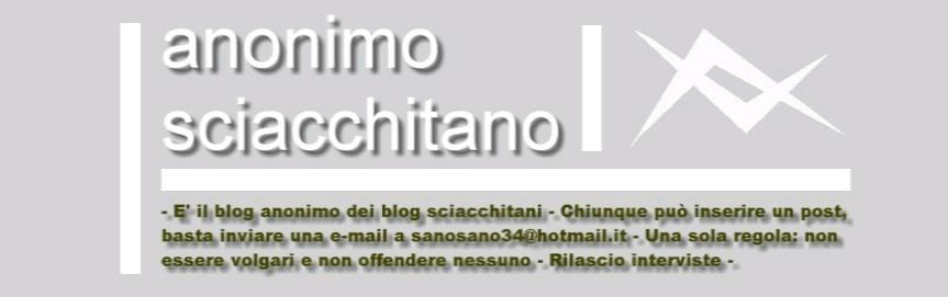 Anonimo Sciacchitano
