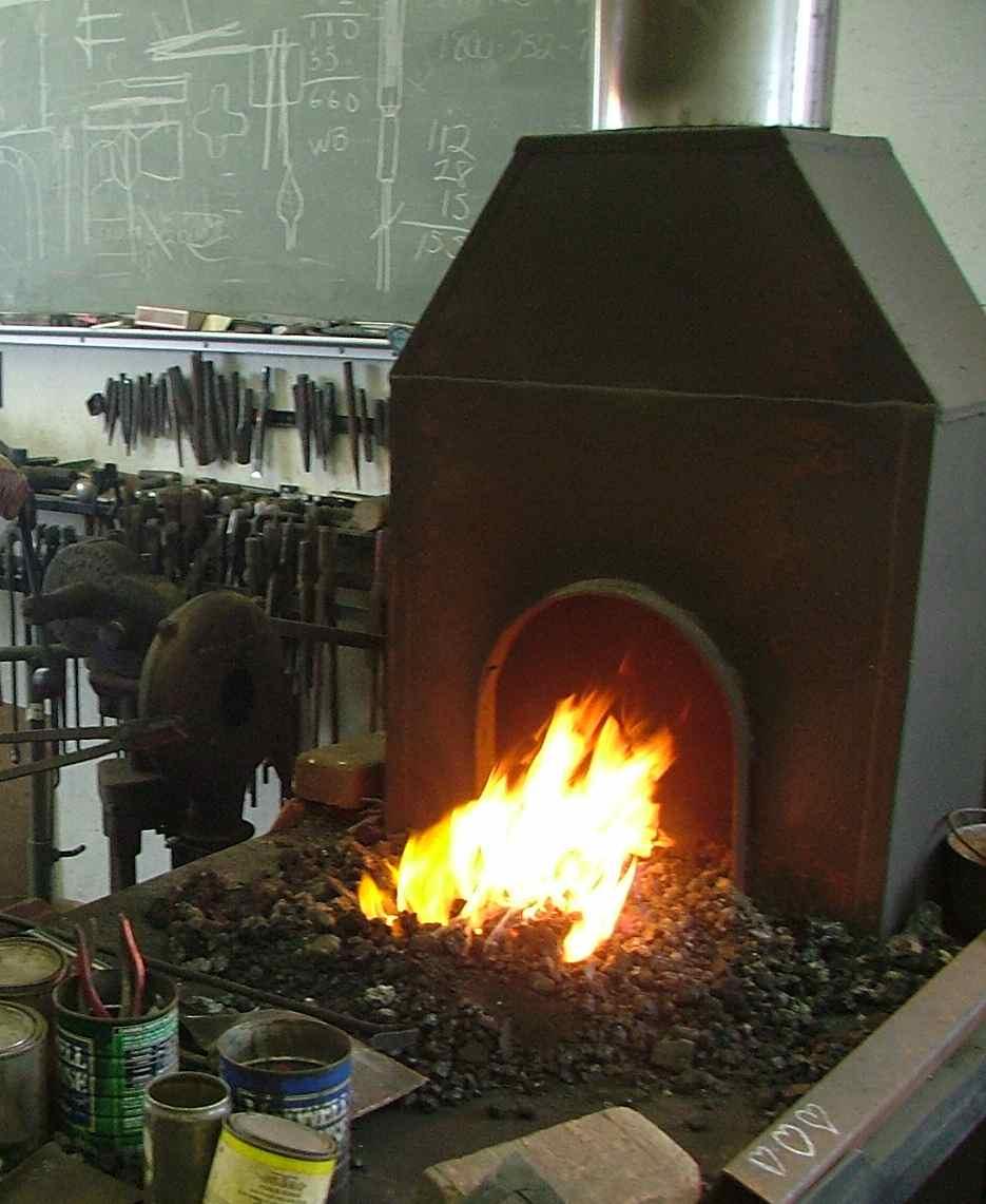 Blacksmith Forge Hoods ~ Kellogg sons blacksmith shop blacksmiths hammer in