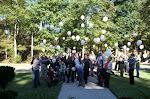 Mary's memorial balloon release