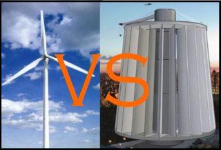 Ветрогенераторы: вертикальные против горизонтальных :: NoNaMe