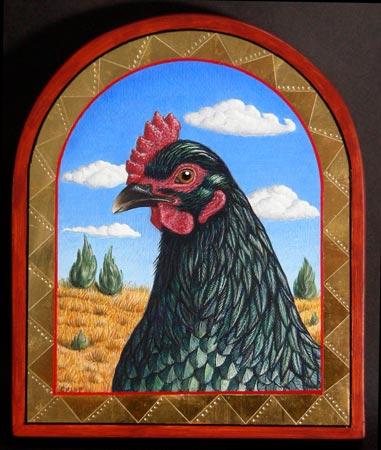 el gallina negra: