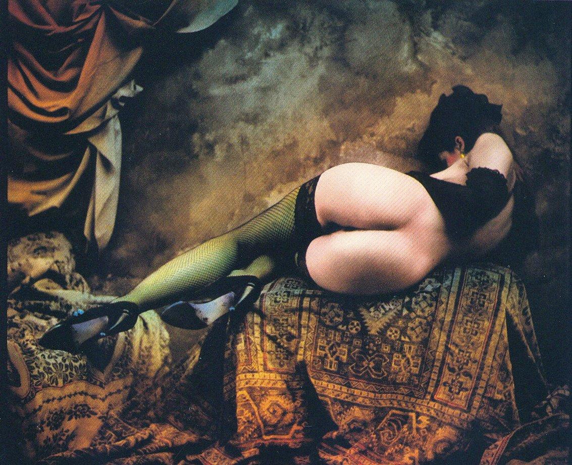 """""""EINE TANZERIN"""", ΦΩΤΟΓΡΑΦΟΣ: JAN SAUDEK, 2003."""