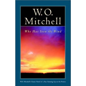 a review of wo mitchells novel who has seen the wind