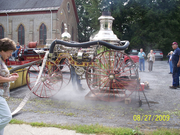1881 Silsby pumper