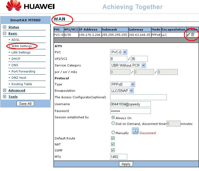 how to change modem channel huawei