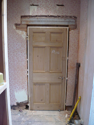 There is always a bit of messing around when hanging an old door (packing out hinges filling old holes) but its worth spending the extra time as they look ... & Sawdust In My Socks: Door hanging