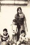 Hugo, Fernando y Amparo