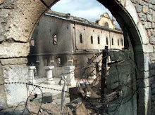 Catedrala Sf. Gheorghe din Prizren (Kosovo), distrusa de albanezi