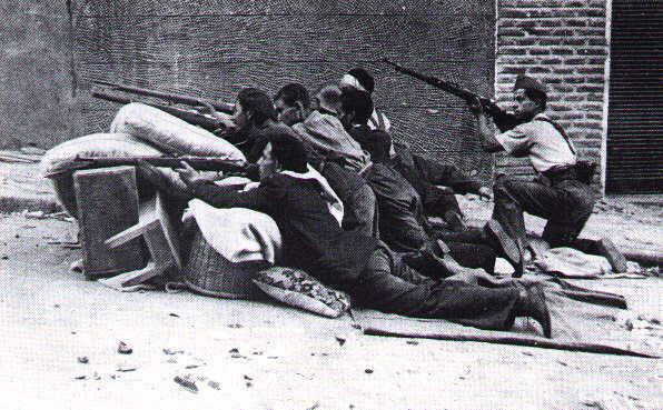 La guerre civile d'espagne