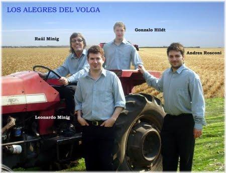 Los Alegres del Volga