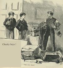 Cheeky boys !