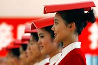 azafatas beijing 2008 voluntarios
