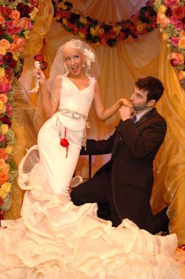 Events By Heather Ham Celebrity Wedding Christina Aguilera